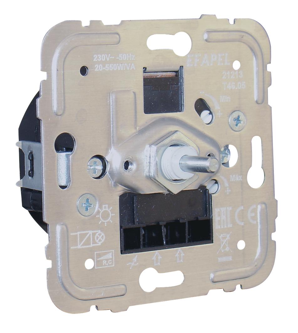 Regulador/Conmutador de Luz Rotativo Electrónico de 550W R, C