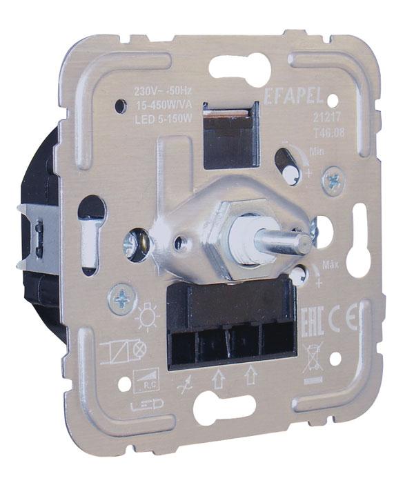 Regulador/Conmutador de Luz Eletcrónico para Lámparas de Bajo Consumo de 450W/VA R, C