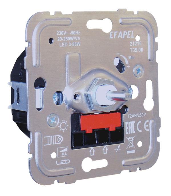 Regulador/Conmutador de Luz Ferromagnético para Lámparas de Bajo Consumo de 250W/VA R, L