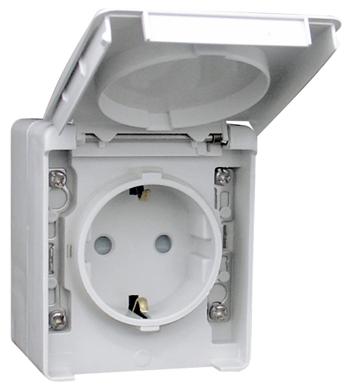Safety Earth Socket (Schuko Type)